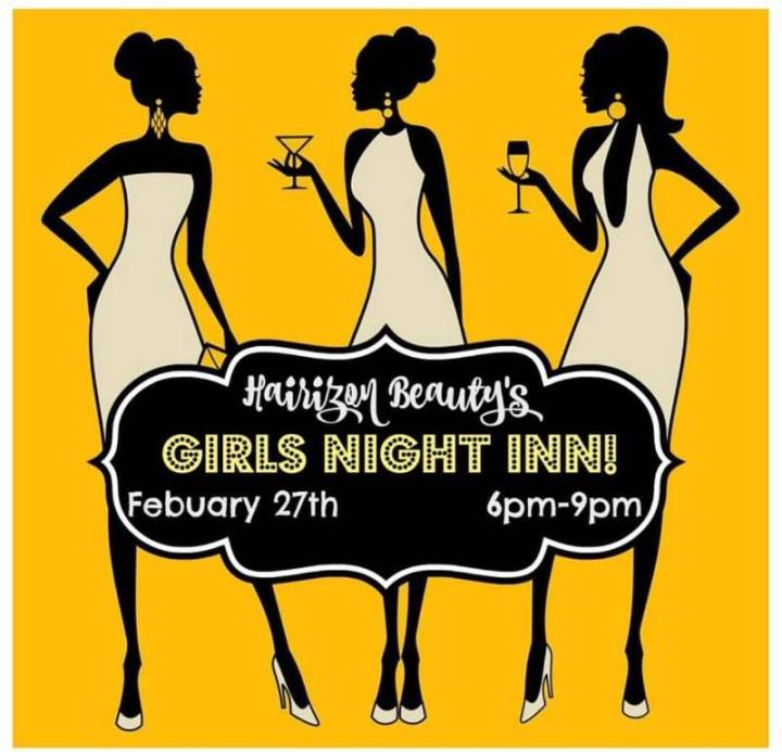 Out and About   Girls Night In atHairzon