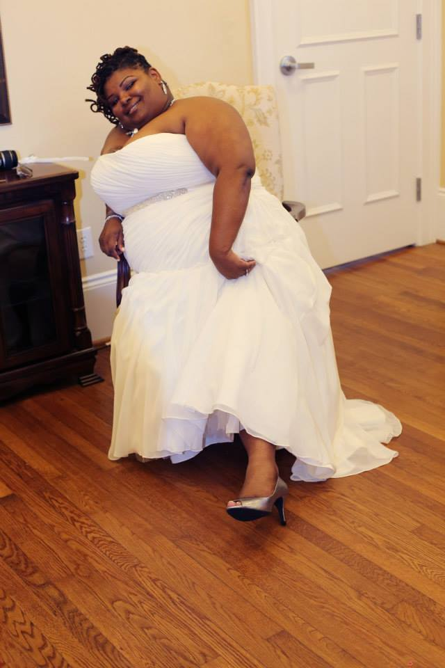bykStyle | Say Yes To The {Plus Sized} Dress: The Truth About Curvy Wedding DressShopping