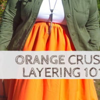 bykstyle | Orange Crush: Layering 101