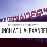 Out & About | Celebrating Jentober with Brunch at J. Alexander's