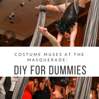 Out & About|Costume Muses at the Masquerade|DIY for Dummies